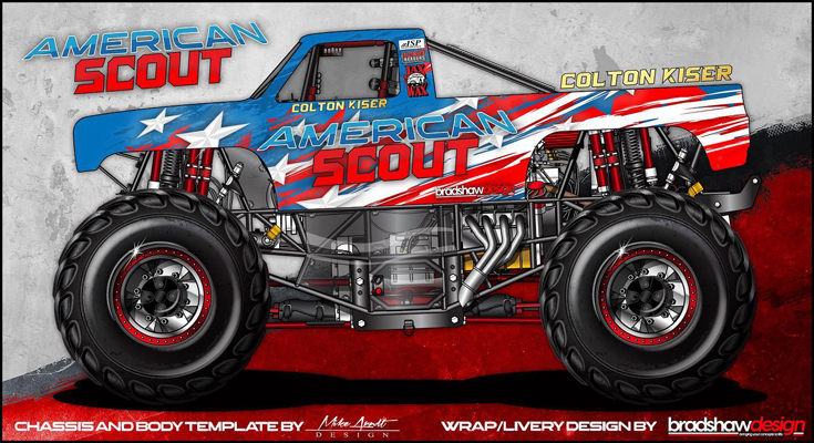 American Scout Mini Monster Truck
